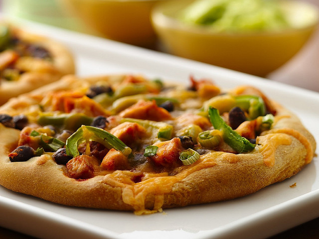 RECIPE: Chicken Black Bean Tostizzas by Pillsbury.com on Flickr.