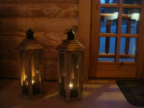 Candles, wood - Kvitfjell, Norway… Peace be with you all…