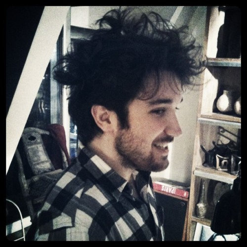 La nouvelle coupe de cheveux de @LeReilly  (Taken with instagram)