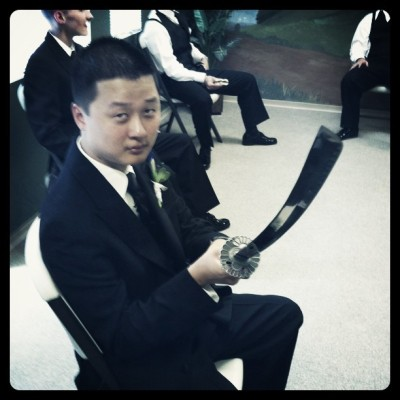 Samurai sword. No problem. (Taken with instagram)