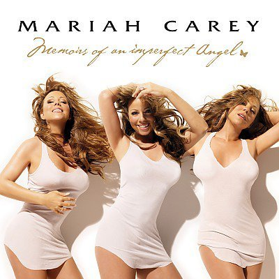 Mariah Carey 3 alters, all seeing eye and the Monarch butterfly representing the different personalities.