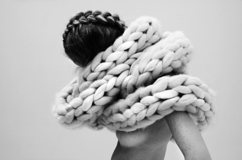 It is like the anaconda of knitting…. by Nana Van Blaaderen