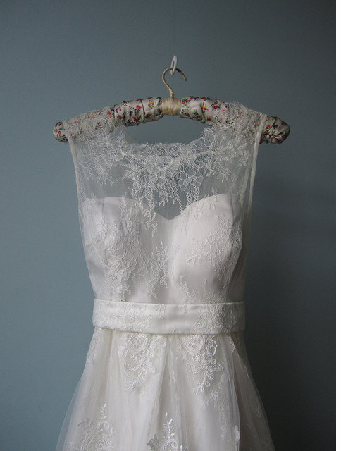 sweetlydreamingtonight:  A wedding dress like this one day, please.