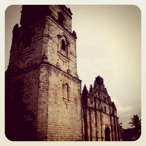 Paoay Church, Ilocos, Philippines #mytravel (Taken with instagram)