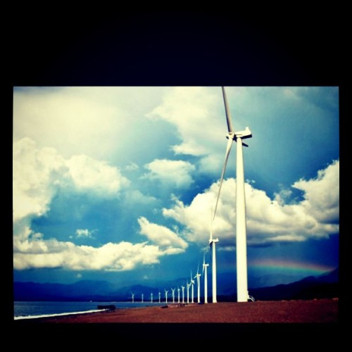 Bangui Windmills, Ilocos, Philippines #mytravel  (Taken with instagram)
