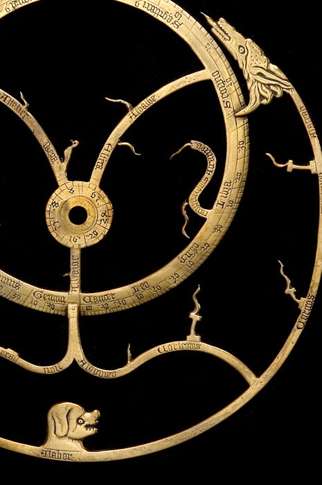 honkshu:  Astrolabe, English, c.1370 The stars http://www.mhs.ox.ac.uk/astrolabe/