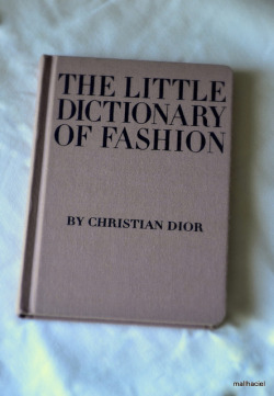 The Little Dictionary of Fashion on Flickr.