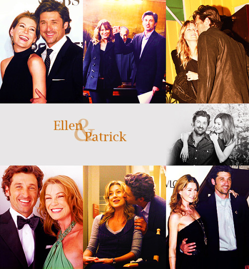 Top 5 Favorite co-stars   Ellen Pompeo & Patrick Dempsey (Grey's Anatomy)