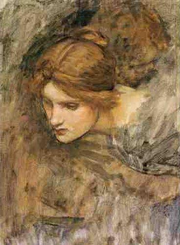 poboh: John William Waterhouse. (English 1849 -1917) ~ Head of Venus (study)