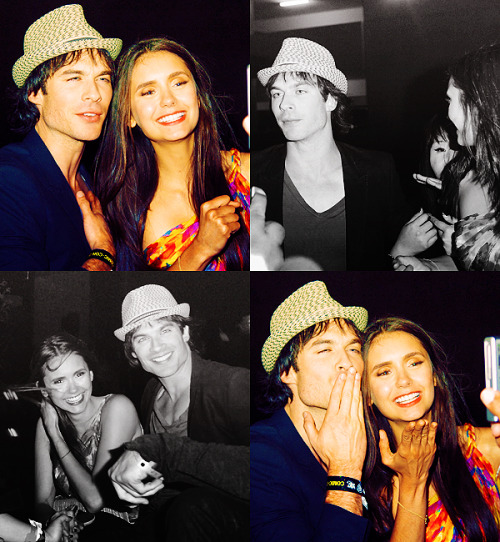 Ian and Nina Around Comic-Con in San Diego (July 22)