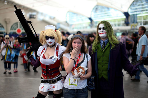 Comic-Con showcased only comic books, sci-fi/fantasy and film/television when it started in San Diego in 1970. Now it takes in all aspects of pop culture - from horror, animation, and anime to toys, cards, video games and webcomics (via Comic-Con International 2011: Day 1 | Culture | guardian.co.uk)