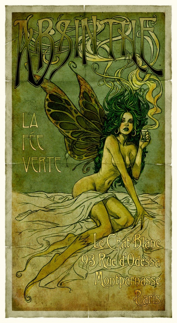 The Absinthe Fairy by Aly Fell