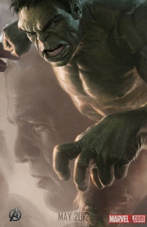 The Avengers Character Poster: The Hulk Revealed at SDCC '11