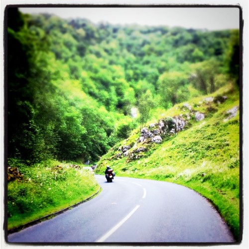And then I rode to the gorge (Taken with instagram)