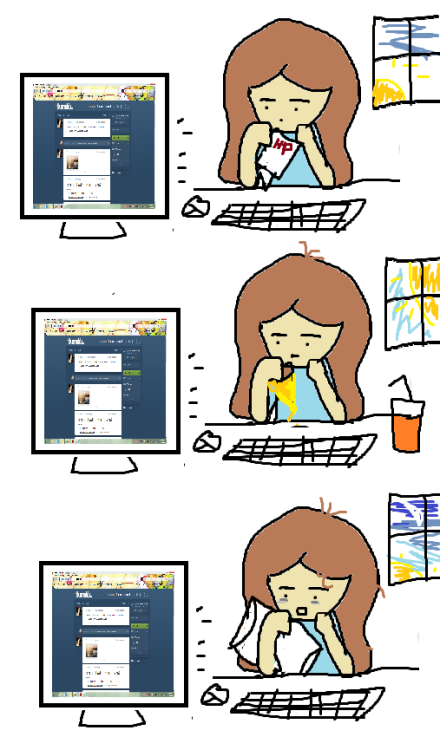 Life after discovering Tumblr…