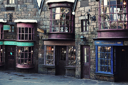 ruineshumaines:  Hogsmeade Village (by Marie's Shots)