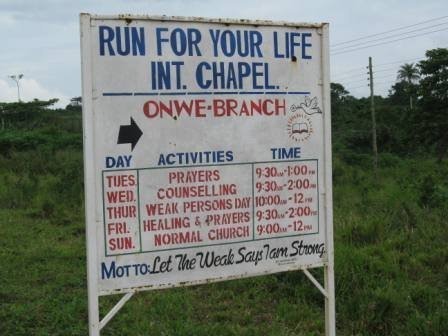 Smh Ghana has the most serious names for churches.