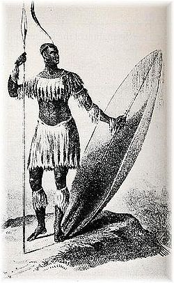 black-history:  The military genius King Shaka kaSenzangakhona of the Zulus