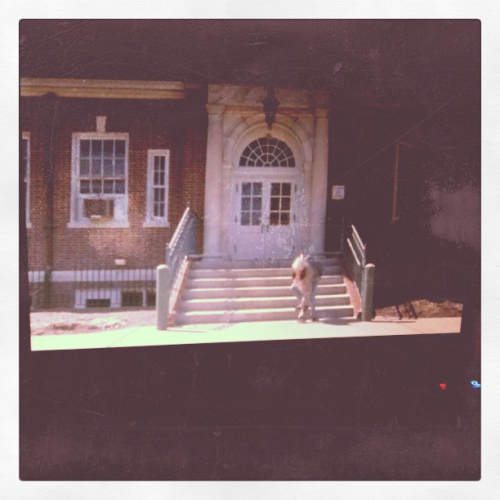 Laptop Movie! HOUSE OF THE DEVIL (Taken with instagram)