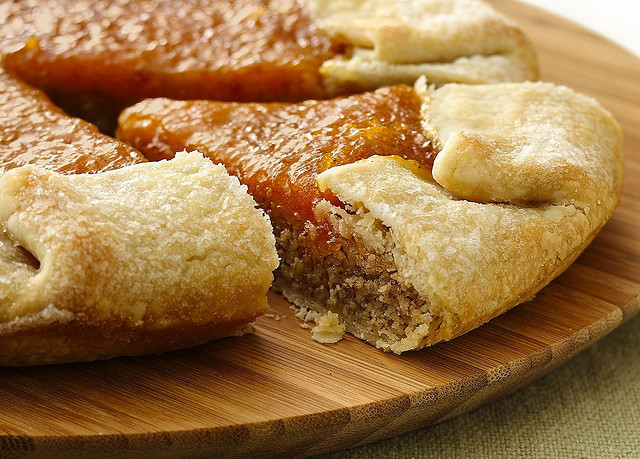 Almond-Apricot Galette by Pillsbury.com on Flickr.