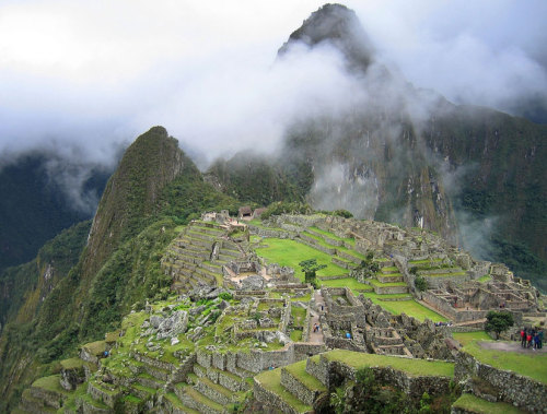 Happy Anniversary, Machu Pichu!  This 15th-century Incan  city of carved stone structures, built on an Andean mountain range, was  introduced to the world by American explorer Hiram Bingham.