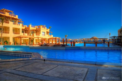The resort town of Hurghada, on the Red Sea in Egypt (via Top Travel)