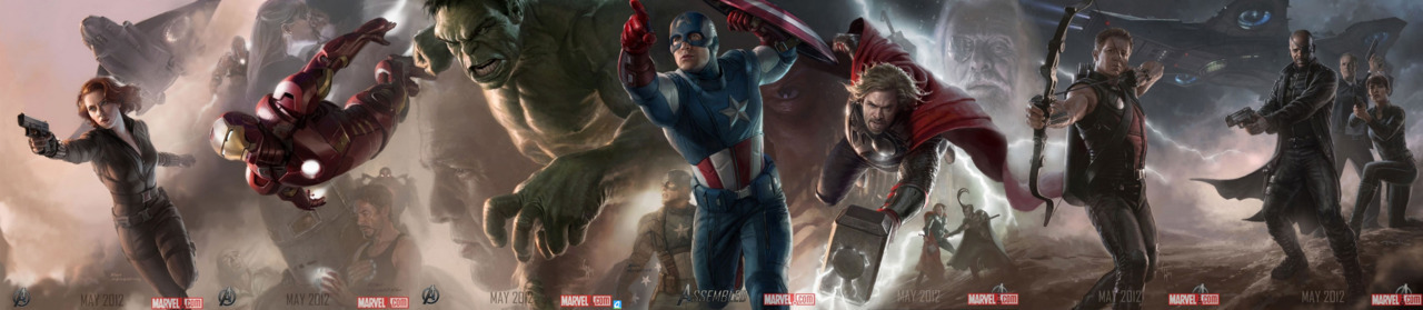marquetti:  'The Avengers' by Ryan Meinerding, Charlie Wen and Andy Park