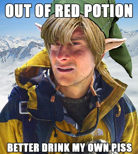 gamefreaksnz:  Out of red potion..