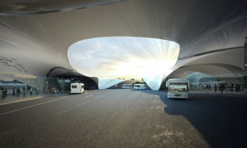 Bus station of the future