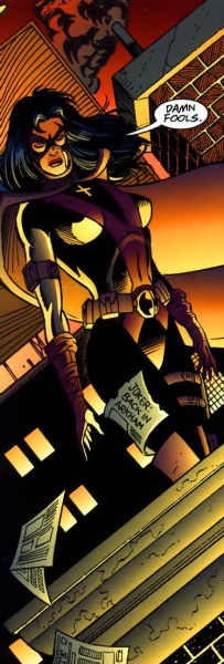 quelquechosedebizarre:  Huntress from Detective Comics Vol 1 #696 art by Graham Nolan / Scott Hanna (C) DC