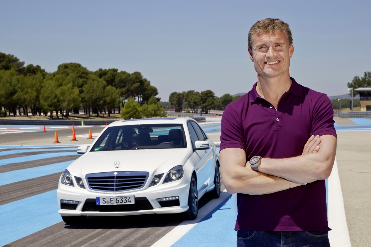 Mercedes Benz / AMG + David Coulthard (vía Carscoop)