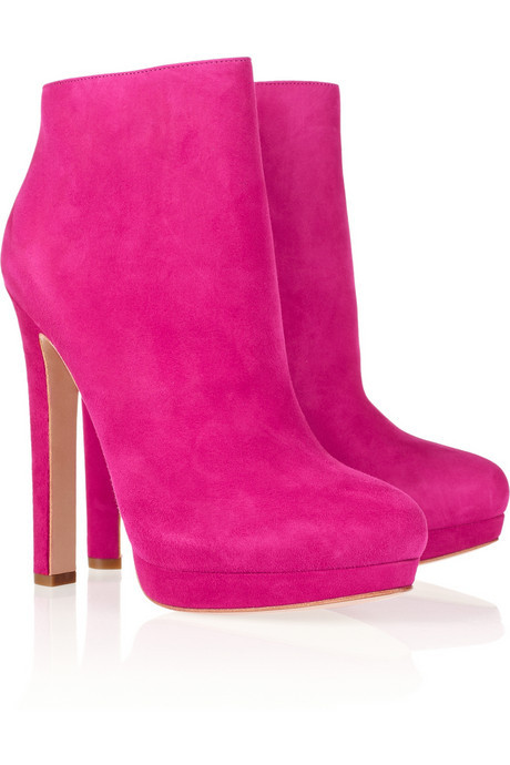 I would kick some major booty in these pink suede booties! The title of my next book would be How to kick ass, and take names!