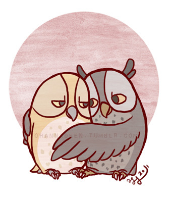Owls, as requested. ^_^ <3