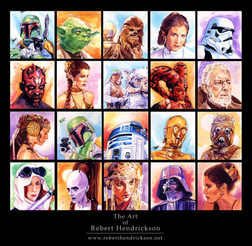 Star Wars PortraitsThe Art of Robert Hendrickson