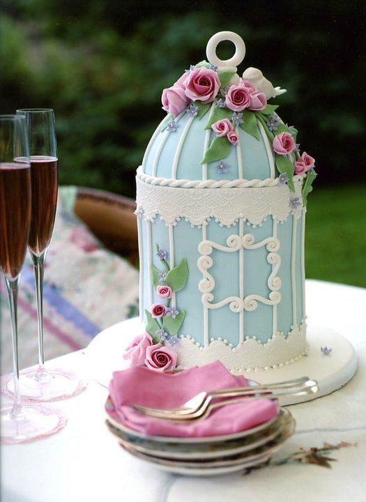 Amazing bird cage cake!