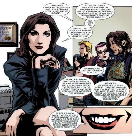 loislaneverse:  Lois Lane Panel of the Day: ~Superman Gen 13 #1  by Adam Hughes
