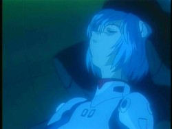 The episode in which Rei dozes off in Eva 00 after staying up all night.