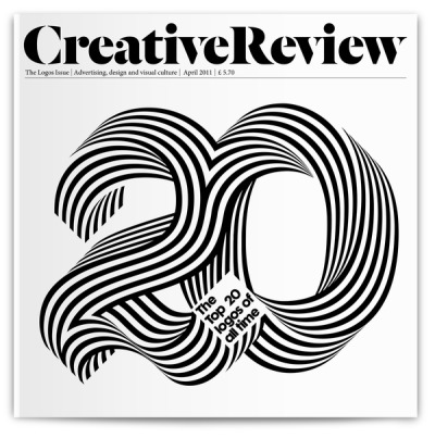 Top 20 Logos of All Time (2011) Creative Review  design: Alex Trochut