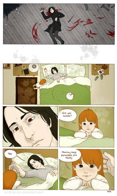 lilyslove:  Another Life for Severus Snape