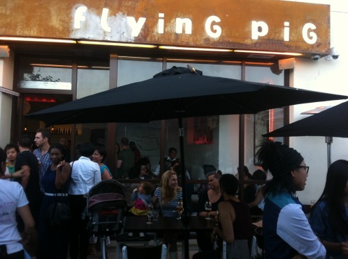 LBDS current project: Flying Pig Cafe opening night