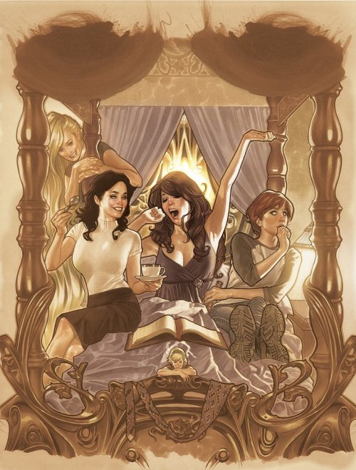 fairest #1 cover by adam hughes