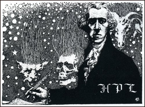 H.P. Lovecraft by Virgil Finlay