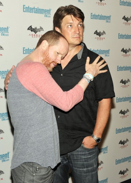 Joss Whedon and Nathan Fillion at the Entertainment Weekly's 5th Annual Comic Con Bash, July 23rd
