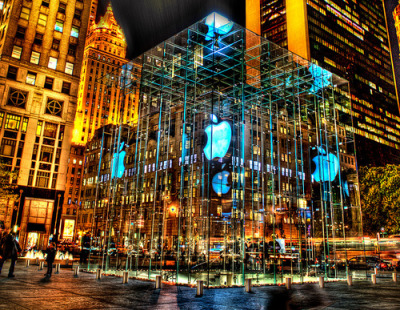 This Apple Mac Cube is simply amazing, only can be found @ New York… Great photography