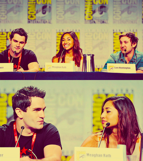 Comic Con 2011 Panel for Being Human US  » Sam Witwer, Sam Huntington & Meaghan Rath