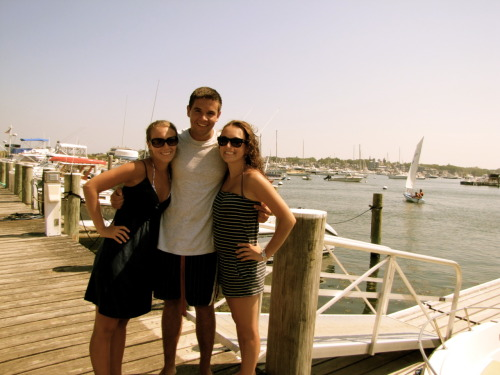 my friends & i at martha's vineyard <3