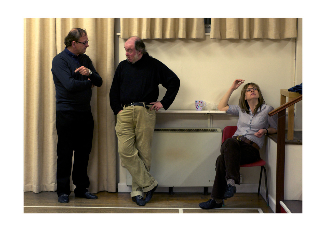 'Persona' Behind the scenes during the Minuet Company rehearsals, before the Georgian ball.