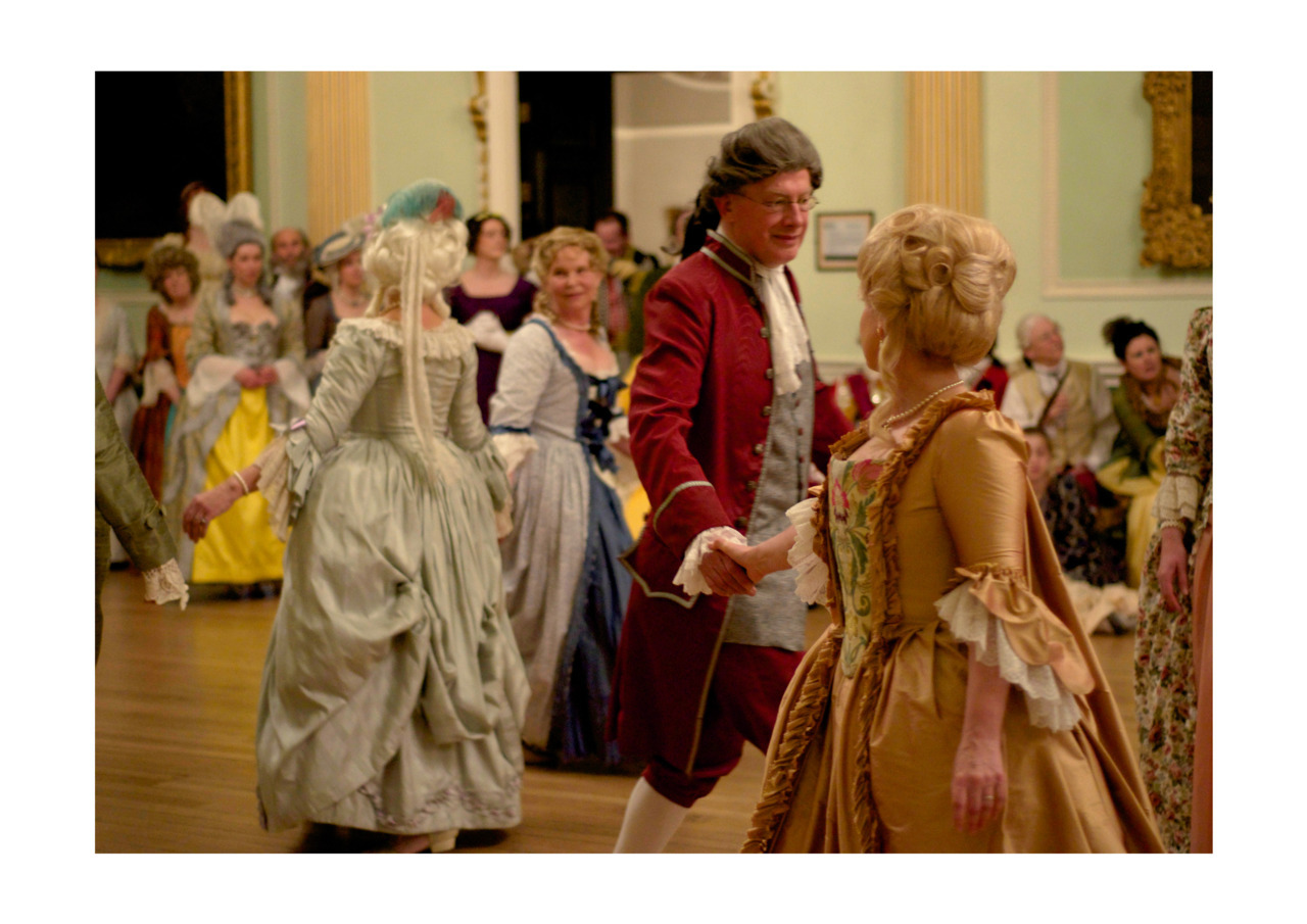 18th Century Minuet dance routine at the Georgian Ball