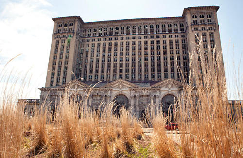 Reading now.   PHOTO: Detroit's abandoned Central Station (Melanie Stetson Freeman/ The Christian Science Monitor) The July 25th cover story tackles the tricky restructuring of Detroit, a former industrial gem struggling to regain its footing after nearly five decades of economic decline. Writer Mark Gaurino describes the latest plans from Mayor Dave Bing and others to help revitalize a city in which the overabundance of vacant land is currently its biggest resource.   Part of the Mayor's plan includes connecting and consolidating neighborhoods separated by abandoned land to create a smaller, more efficient city. This is a lot for a city currently large enough to fit Manhattan, San Francisco and Boston within the 139 square miles inside its borders.  Large swaths of this city look like a ghost town. Blight, resulting from abandoned homes and shuttered factories, is everywhere. Dead zones detach rather than connect neighborhoods from each other, creating a patchwork that the city says makes it too expensive to service. So the mayor has an idea: Draw residents out of marginally populated areas through direct and indirect incentives into a close-knit population core. By razing and repurposing what is left behind, the city might reduce its geographic size and save money by not having to service such far-flung neighborhoods.  One of the challenges to his plan - the city's 48 unions, which last year cost the city nearly $400 million in healthcare and pension payouts, a figure which remains unsustainable for the struggling city. That amount also leaves Detroit susceptible to being taken over by an emergency financial manager, appointed by the Governor, who is enabled to hire and fire employees, void union contracts, and make changes without the approval of the mayor or city council. READ: Retooling the Motor City: Can Detroit save itself? A related business story shares more details of the Mayor's restructuring plan, which includes demolishing 10,000 vacant and deteriorated homes. That's nearly one-tenth of the overall 100,718 vacant addresses in the city, which represents 12 percent of the overall city size. READ: Detroit has radical plan: Raze the dead in Motor City