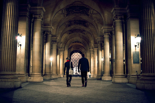 The Louvre by TGKW on Flickr.